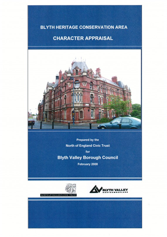 cover of Blyth heritage report