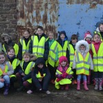 schoolchildren at Camp Farm