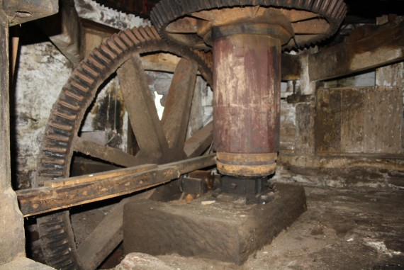 cogs for turning millstones