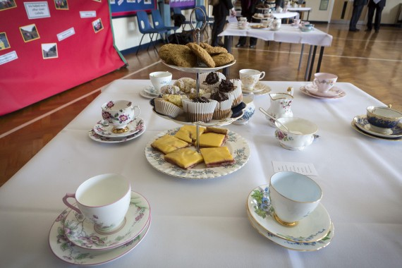 tea and cakes for all