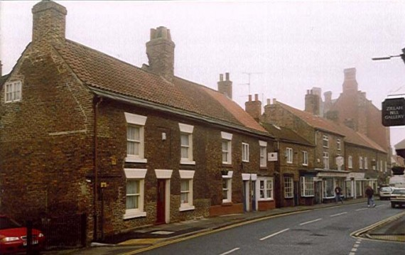 row of houses in Thirsk