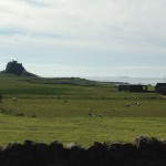 view of holy island