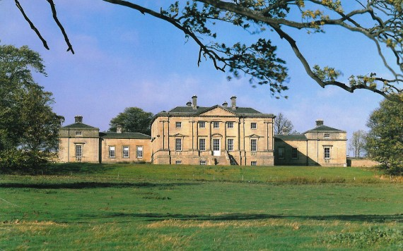 restored Palladian mansion house, Northumberland