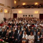 award presentation event in historic building in Croatia