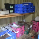 items packed up and into store for safe keepingphoto alternative text...
