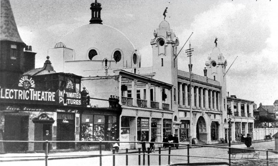 historic image of Spanish City, Whitley Bay