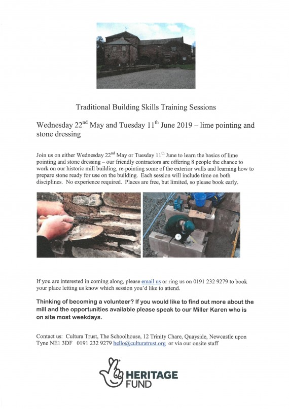 details of skills training sessions in My and June