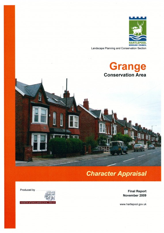 cover for CACA Grange, Hartlepool
